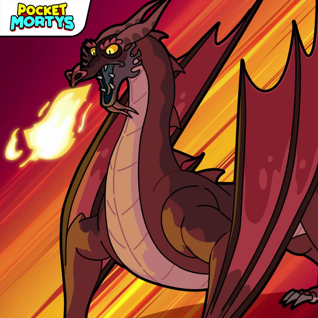 Replying to @PocketMortys: Introducing this month's raid boss. The breaker of skies. Slayer of mountain. Balthromaw.
