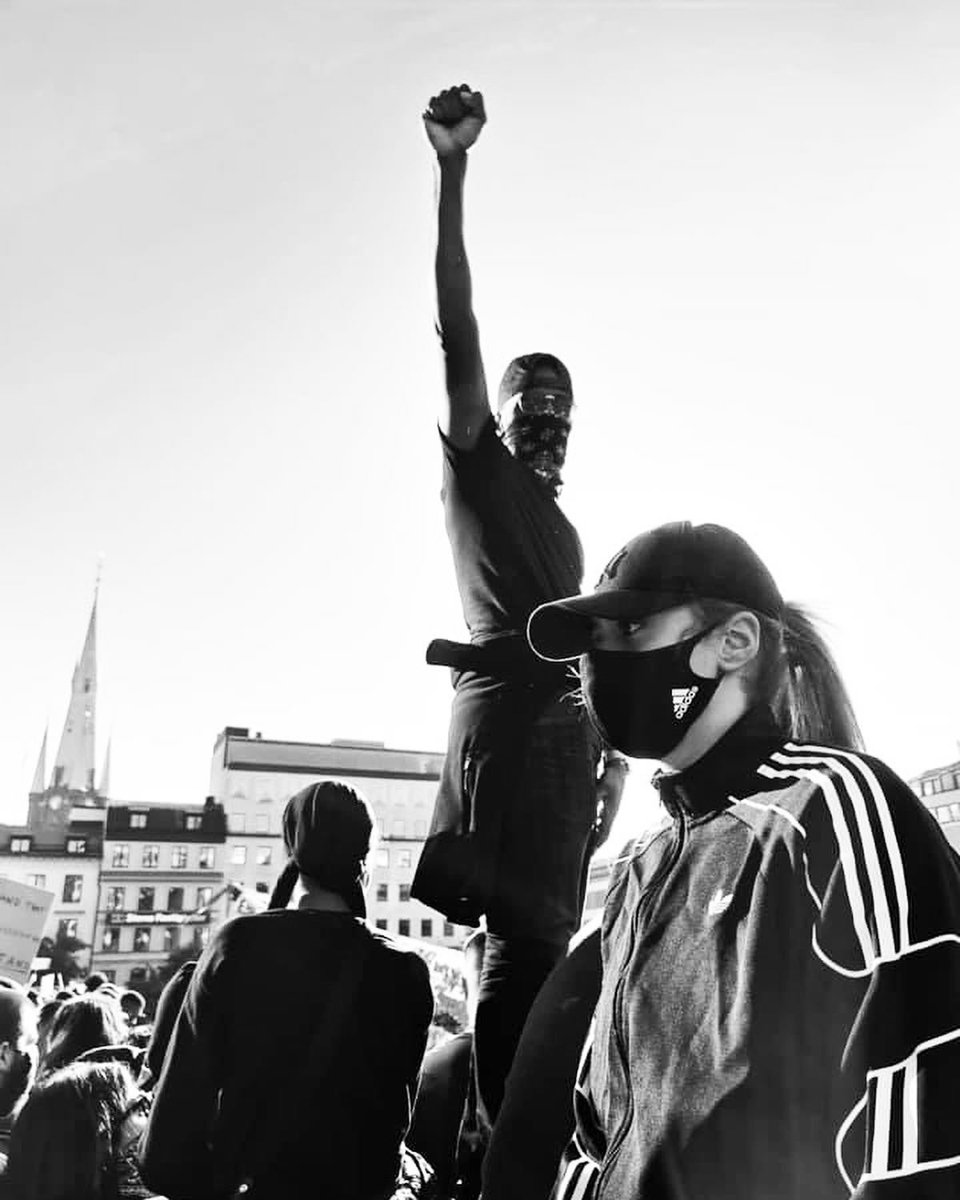 """Power to the people! ✊🏻 ✊🏼✊🏽✊🏾✊🏿"" -@AmandaZahuiB (Sweden, 2020) https://t.co/Onjapn69W1"
