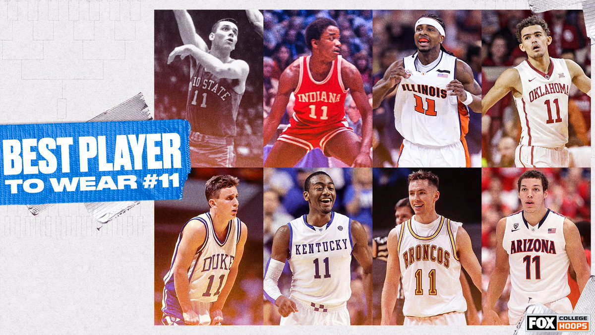 Who is the best college basketball player to ever wear No. 11? 🤔 https://t.co/xVdZmgtR0a