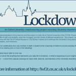 Image for the Tweet beginning: Lockdown2020 is a crowd-sourcing project