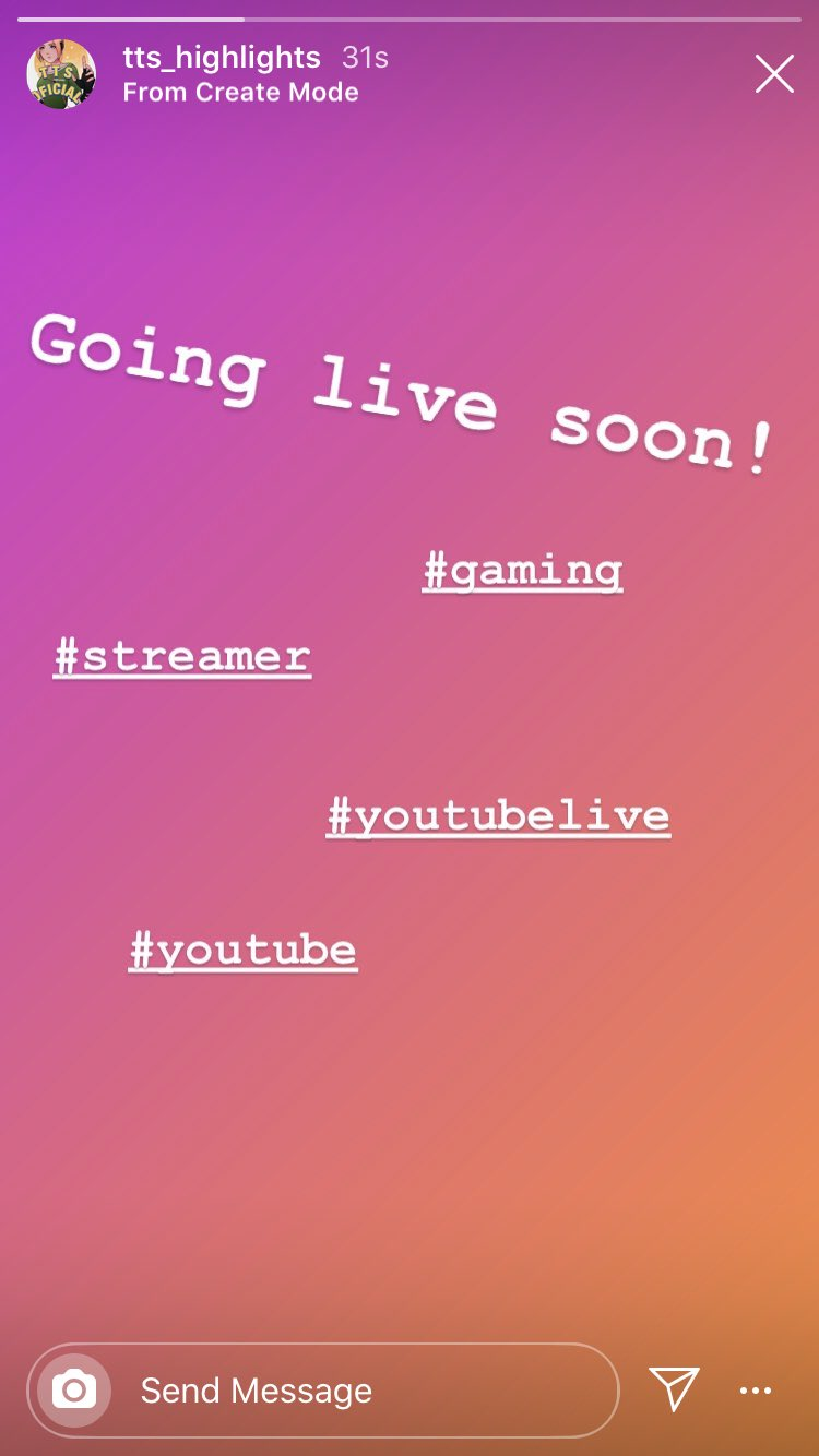Tts Updates On Twitter Going Live Soon Youtubelive Streaming Gaming Ps4 Smallstreamer Smallstreamersconnect Playstation