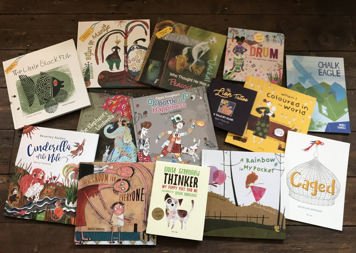 ☀️Teachers, librarians, and parents!☀️ Wed rather you buy directly from us or your local bookshop instead of major online platforms.📚 This is one of the best ways to support indie publishers like Tiny Owl! Have a browse: ow.ly/lFX650zXzvT Please RT🦉