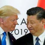 Image for the Tweet beginning: Kina og USA: Fjendskabet forværres