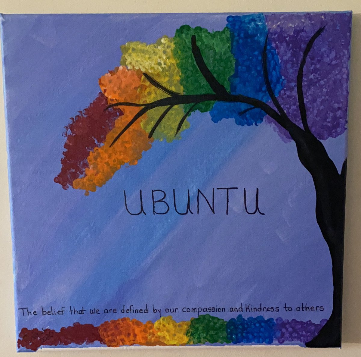 The belief that we are defined by our compassion and kindness to orhers. UBUNTU! <br>http://pic.twitter.com/55sHXm7mDV