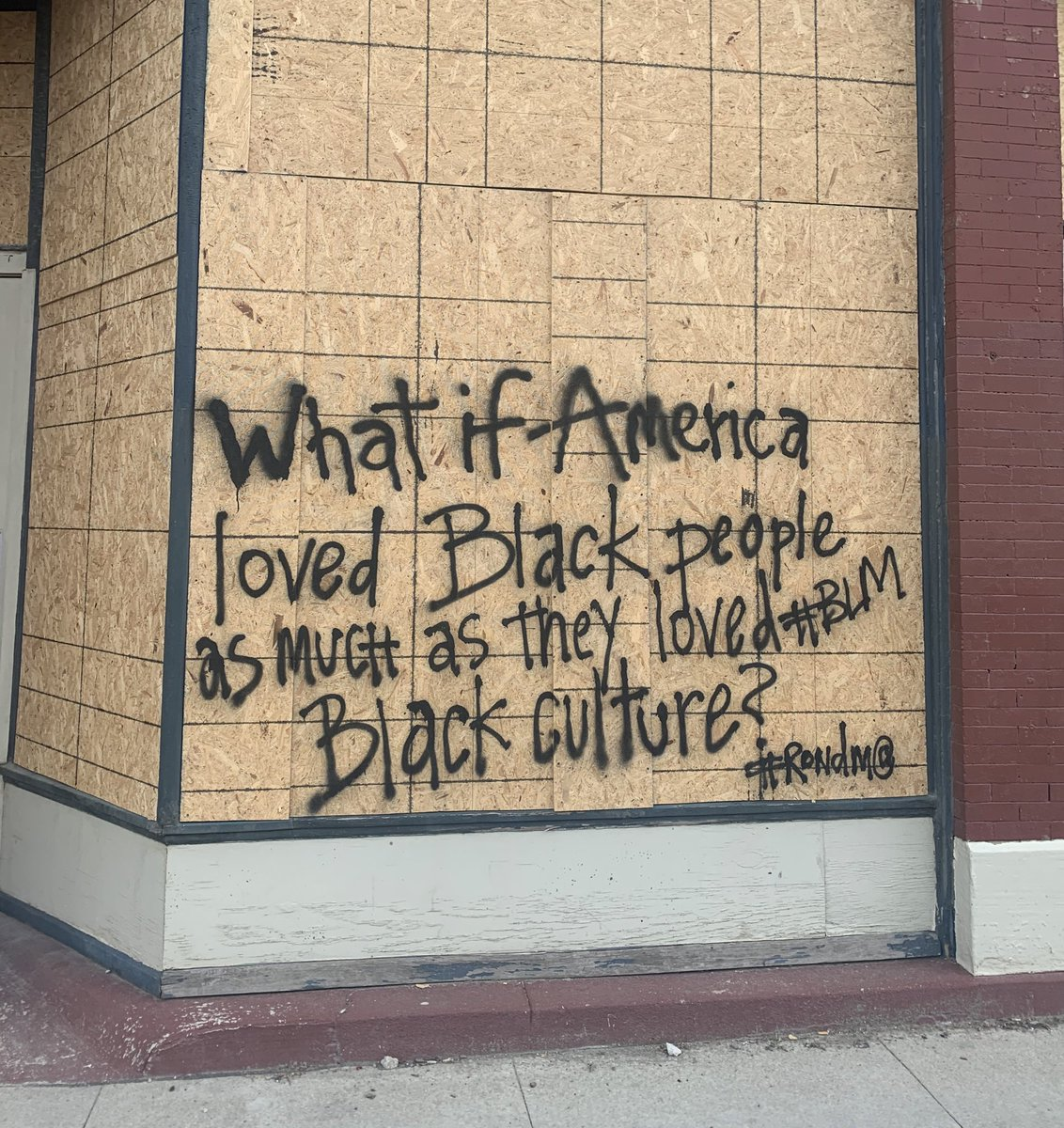 """What if America loved Black people as much as they loved Black culture?"""