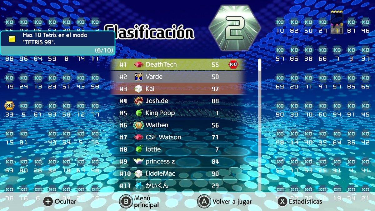 VENGA YA   #Tetris99 #Tetris #NintendoSwitch