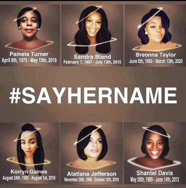 Much work to be done. #sayhername