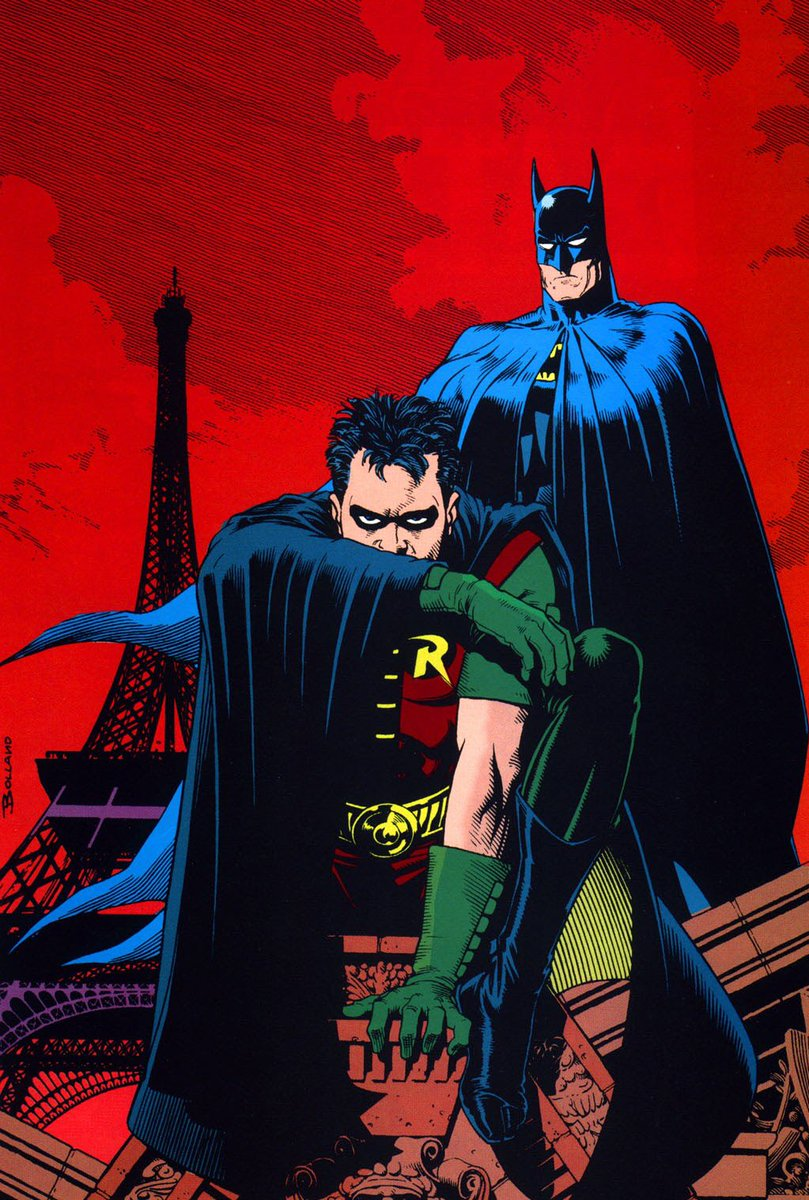 Batman & Robin by Brian Bolland https://t.co/1Pjsj93gLg