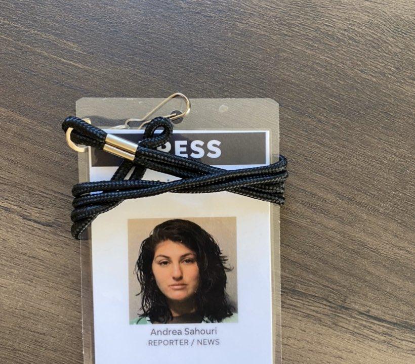 .@DMRnewsdirector made me a press badge with my mugshot. Lol