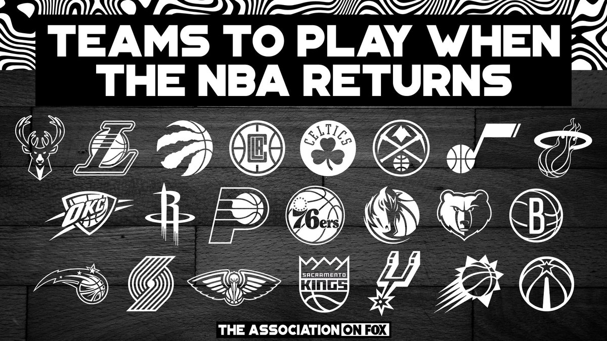 These 22 teams will be back in action when the NBA returns 🙌