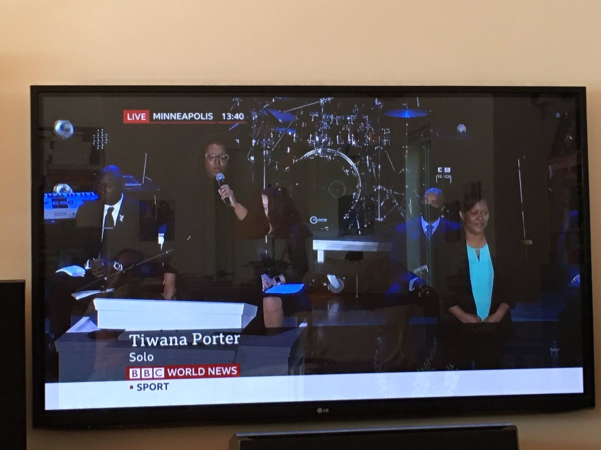Watching the memorial for #GeorgeFloyd from my home in British Columbia, Canada. Tears flowing. #BlackLivesMatter