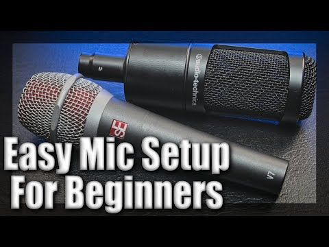 How To Connect An XLR Microphone To Your Computer - Easy Mic Setup For Beginners! #YouTube #homestudio #zoomsetup #podcasting #podcasters #LiveStreaming #livestream #workingfromhome #Homeschooling #contentcreators #smallyoutubers   https://t.co/am332FmAw3 https://t.co/zml5PmdDec