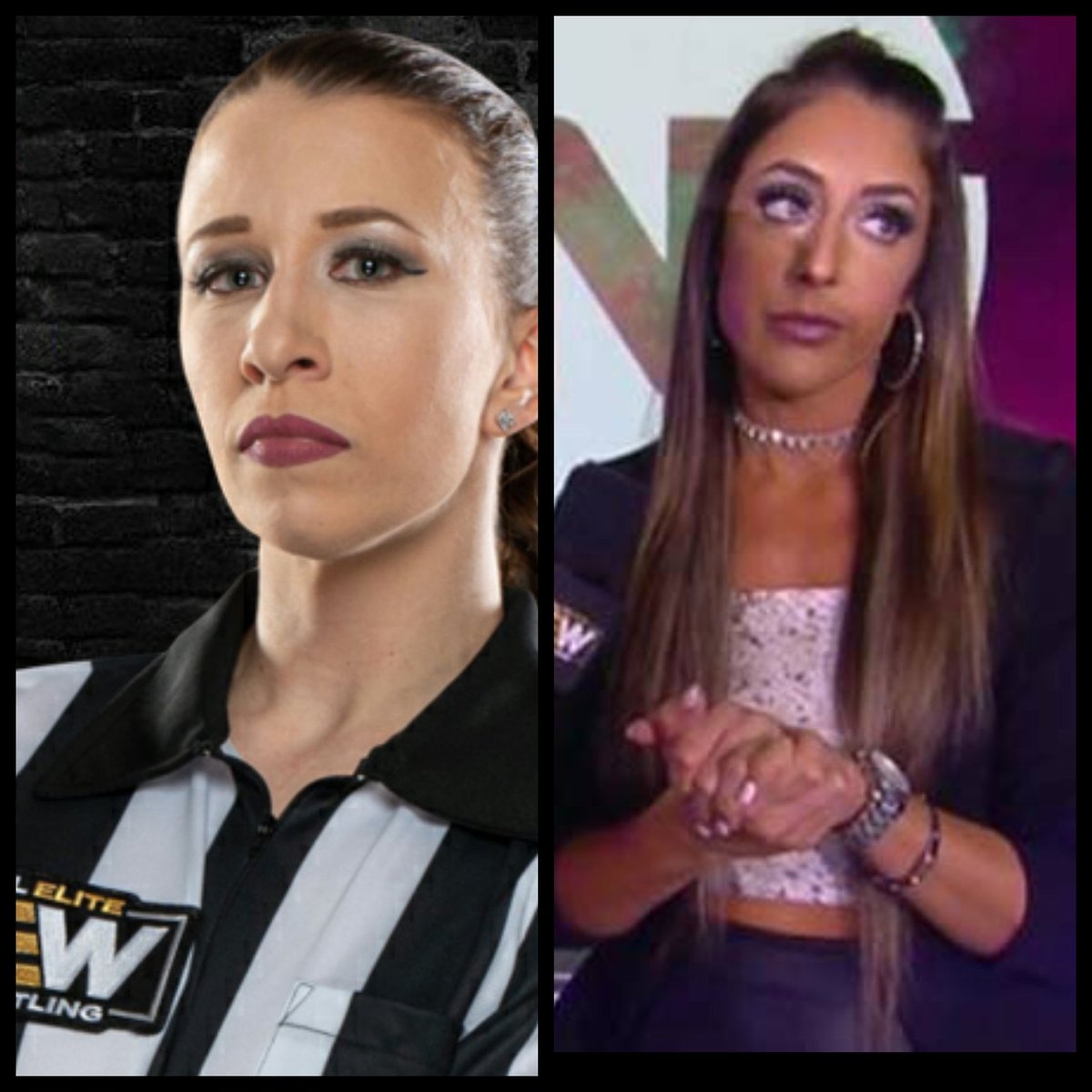 """Could @RealBrittBaker """"Conspiracy Theory"""" lead to @RefAubrey in ring confrontation with Britt? Would Aubry ever wrestle? 🤔 #thursdayvibes #AEWDynamite #AEWonTNT #AEW #WrestlingCommunity #WrestlingWednesday #WrestlingTwitterInTheDaylight  #WrestlingTwitter @tonyschiavone24 https://t.co/qnnlDwslZP"""