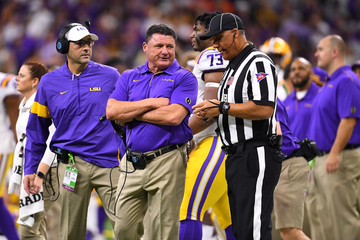 LSU's athletic director has revealed that there have been talks between the Tigers and Wolverines about meeting on the football field.  LSU and Michigan have never played against each other. Let's speak this into existence! https://t.co/RO51xJCCc7 https://t.co/2pWAC9tD7M