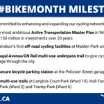 Image for the Tweet beginning: June is #BikeMonth and the