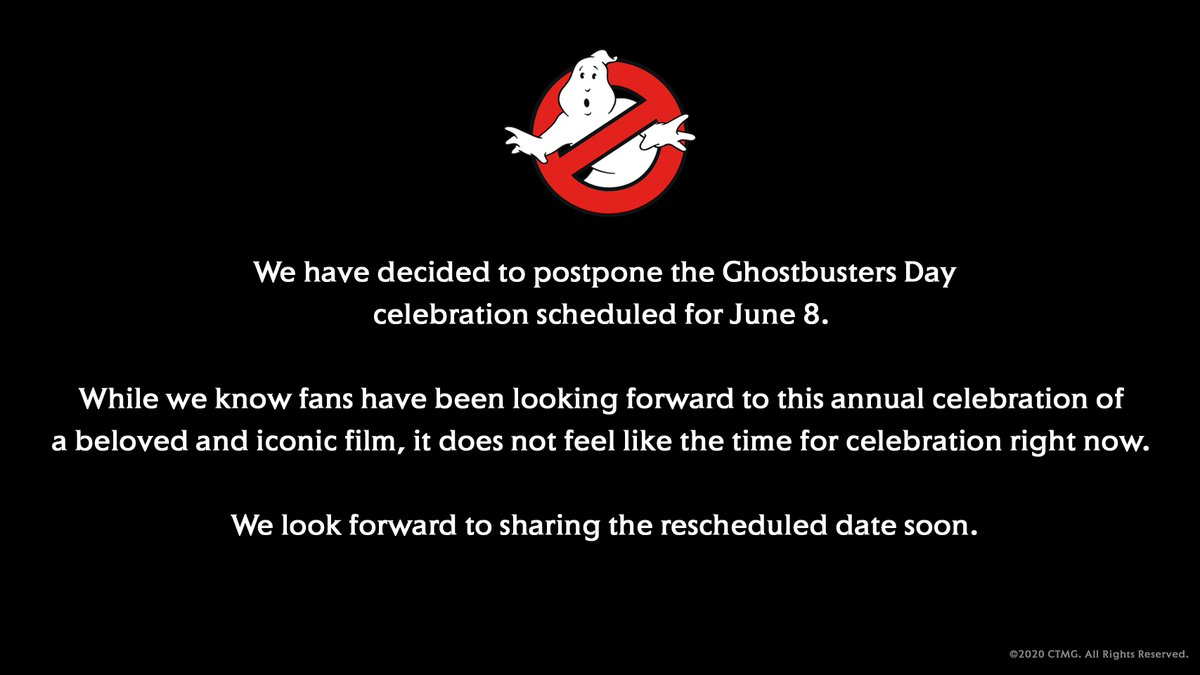#GhostbustersDay https://t.co/lQCrVwTIY5