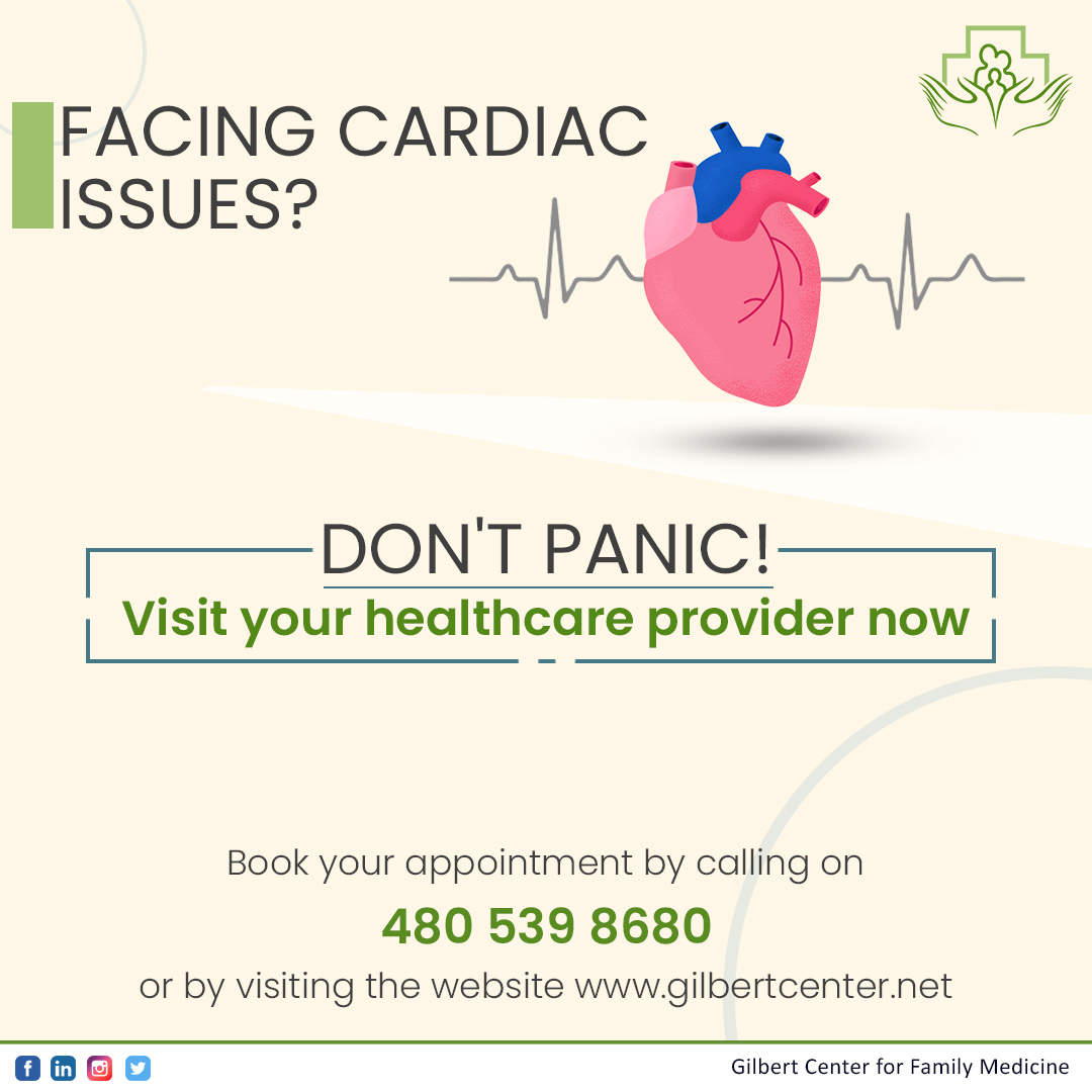 Recognize the symptoms and seek timely medical assistance. We are just a call away. Book your  appointment by calling on 480 539 8680 or by visiting the website.  #heartHealth https://t.co/KQrcQxUjCF