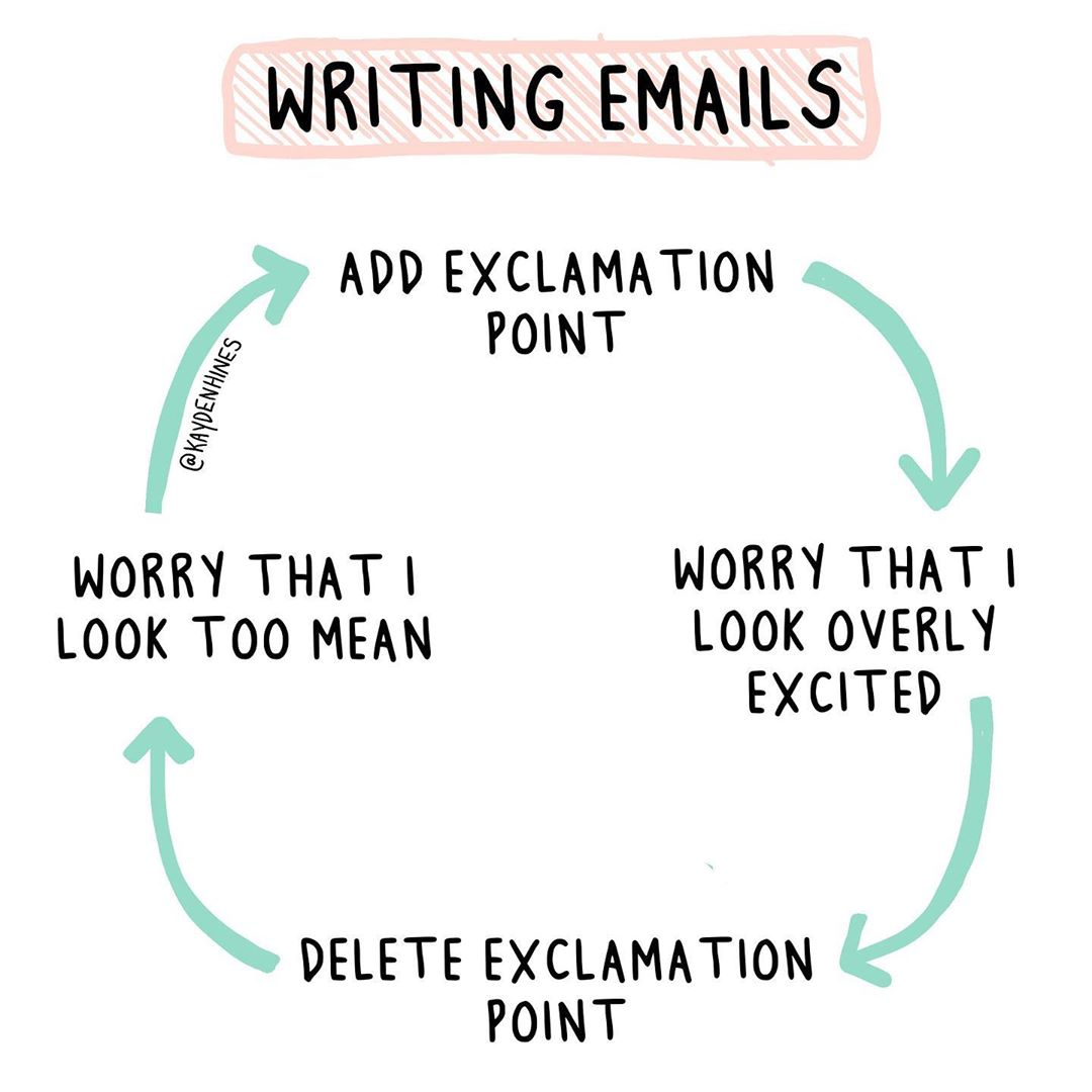 It's a vicious circle! Photo   by kayden hines. #officelife #emailpic.twitter.com/g9UFHhbfTl