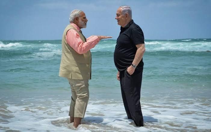 """India se khas apka LORA lene aya hu"" twitter.com/israelipm/stat…"