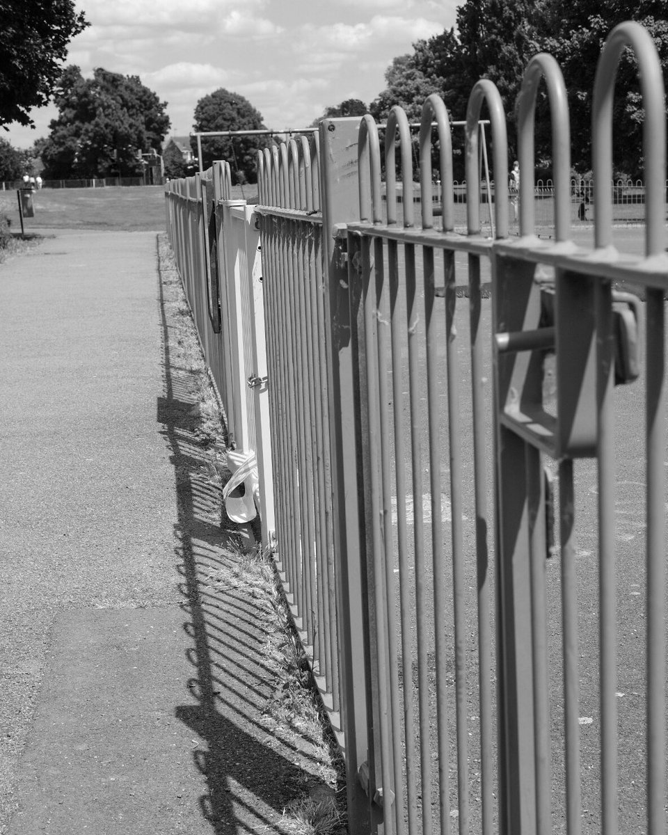 5050project10 (1/50) In the words of #bertstephani I am doing (trying) to take a image a day for 50 days with a 50mm lens.  A walk in the local park, play area for small children closed.  #fujifilm #fujifilmx_uk #fujifilmeu #xpro2  #5050project10 #leicester #leicestershire https://t.co/322wJhCQUG