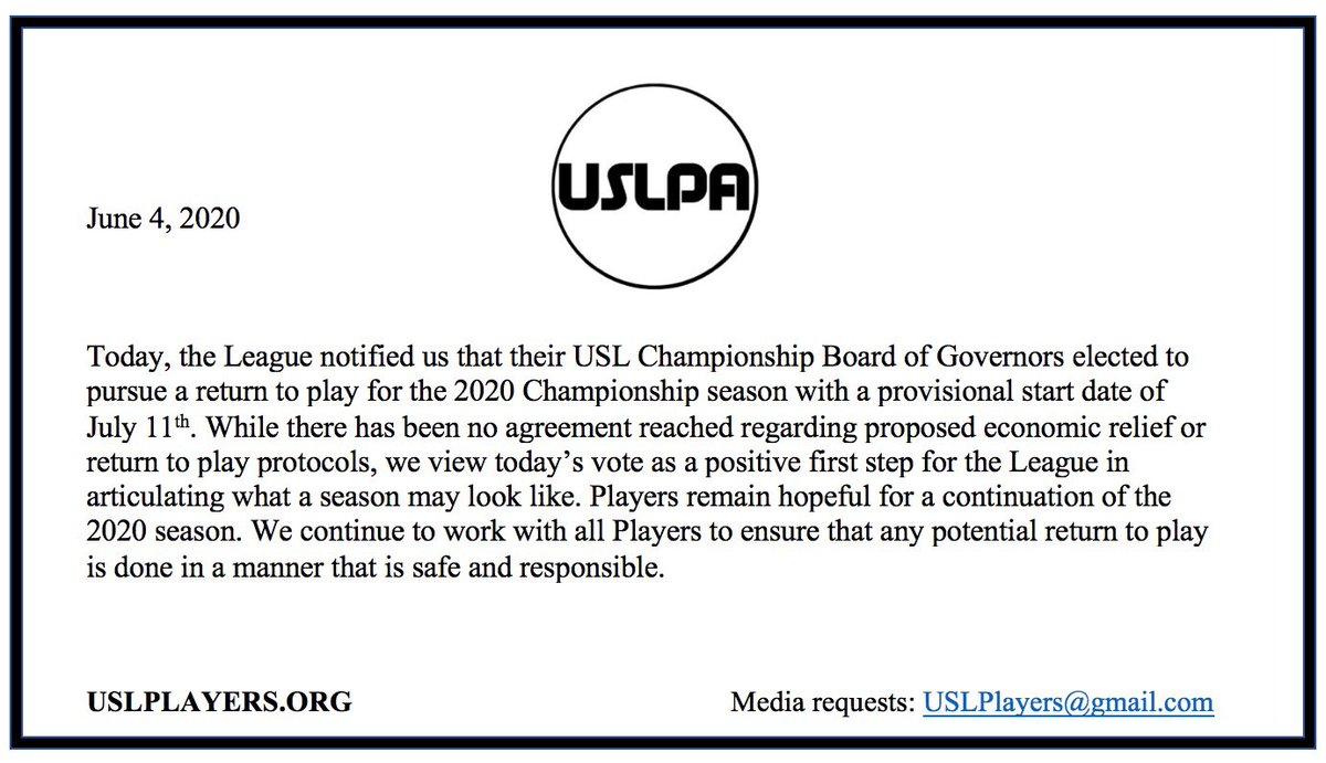USLPA Statement on 2020 Championship Season: https://t.co/2V1c0zUvr0