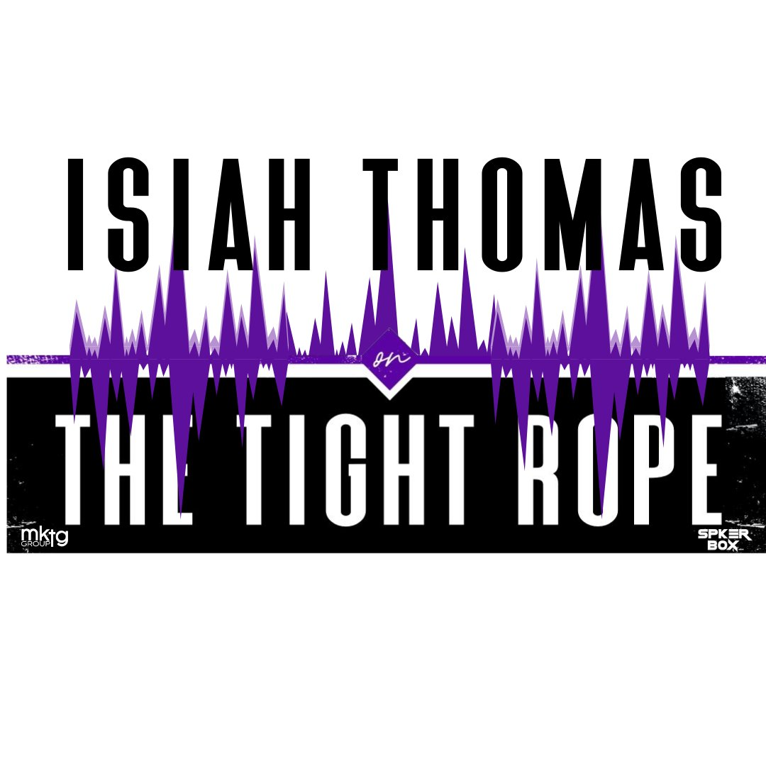 @ProfTriciaRose and I are live on @thetightropepod with my brother @IsiahThomas right now. Join our virtual audience and influence the dialogue. Register at thetightropepodcast.com