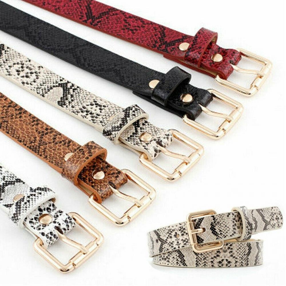 Women's Snake Printed Leather Belt  https://ushopstyle.com  8.99 . . . . #luxury #autumnstyle pic.twitter.com/srKJFXZQaC
