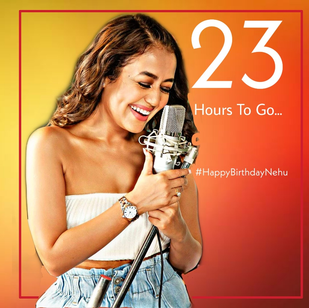 The Excitement has Crossed All The Levels cause only 23 Hours  Left For  Your Birthday . Cant Wait #happybirthdaynehu @iAmNehaKakkar #NehaKakkar . . . . #nehakakkarlove #nehudiaries #nehakakkarfc #nehakakkarfansclub #nehakakkarfanfollowing #nehakakkarfanforever pic.twitter.com/VA1KAibSQc