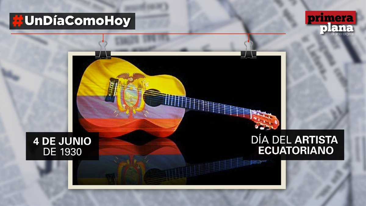 #UnDíaComoHoyPP  El 4 de junio de 1930, salieron del puerto de #Guayaquil, tres #músicos, haciendo realidad las primeras grabaciones eléctricas con #artistasecuatorianos.  Ellos fueron: Nicasio Safadi, Enrique Ibáñez Mora (Dúo Ecuador) y José Domingo Feraud Guzmán. pic.twitter.com/duUZH7oTsV