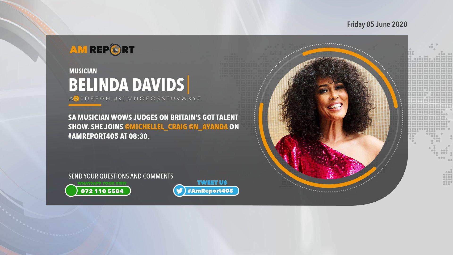 Newzroom Afrika On Twitter Sa Musician Belinda Davids Wows Judges On Britain S Got Talent She Joins Michellel Craig N Ayanda On Amreport405 At 08 30 Https T Co Rxrix2w6i6