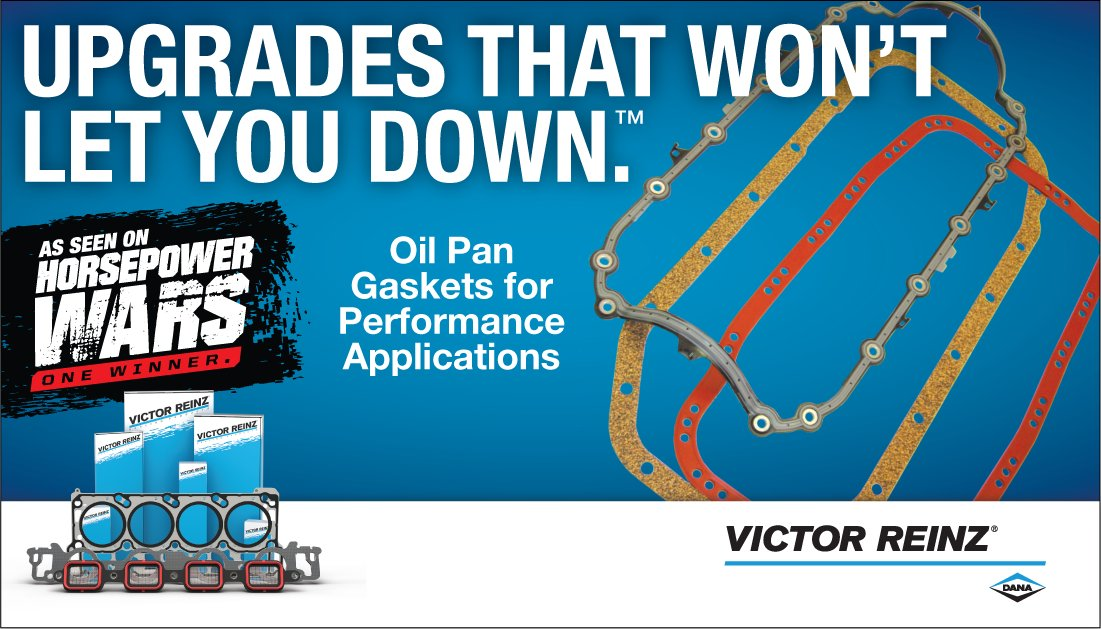 Oil pan gaskets from #VictorReinz ensure a long-lasting seal and prevent comebacks, while a one-piece design provides simple installation: https://bit.ly/2UbZBgK . Visit http://danaaftermarket.com  to find parts today!pic.twitter.com/4GzUHToBSM