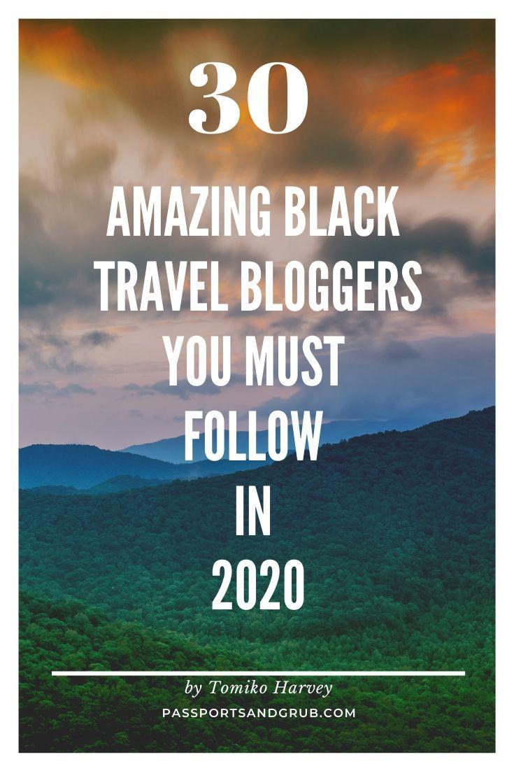 30 Top Black Travel Bloggers To Inspire Your #Wanderlust In 2020 https://buff.ly/2Yg54Vl #travel #travelblogger pic.twitter.com/J5bzvKU4JF