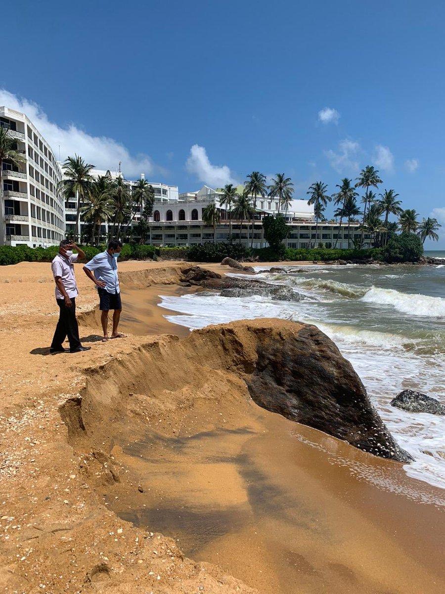 @GotabayaR Hope the money won't end up like the 890 m  beach restoration project.  🙏 #srilanka #restartsrilanka https://t.co/831UgBWPrr