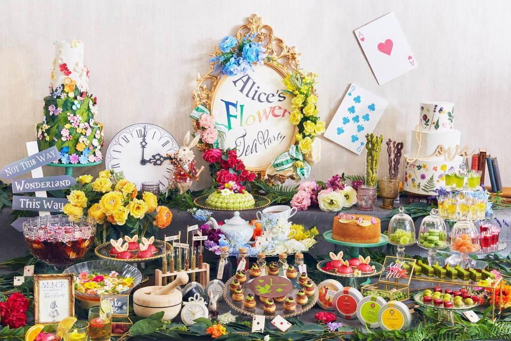 """""""アリスの花園""""スイーツブッフェがホテル インターコンチネンタル 東京ベイで、""""うさ耳""""ムースなど -"""