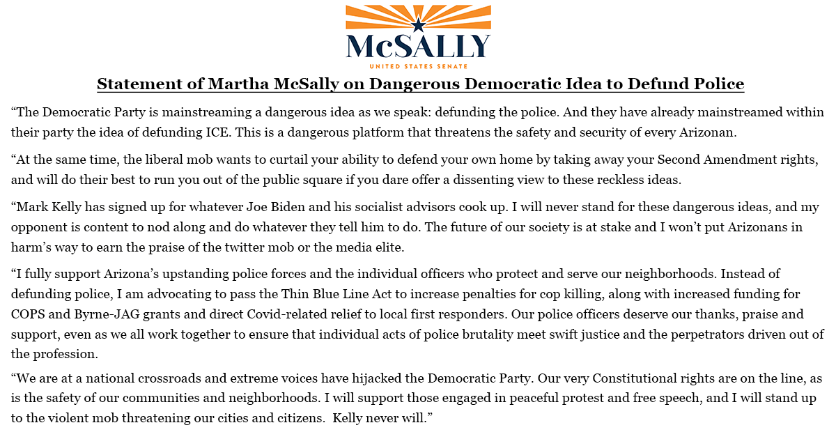 Martha McSally for U.S. Senate (@MarthaMcSally) on Twitter photo 05/06/2020 02:53:30