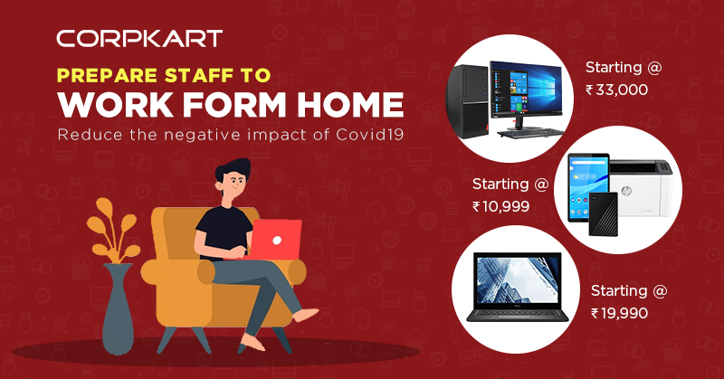 Corpkart fulfilling your B2B needs, even in challenging times of Covid-19. Best Laptops, Printers, workstations & more. Available on Easy EMI's. https://bit.ly/2LX2QnO  . . . #Covid19 #WFH #Laptops #Workstation #Printers #Corpkartpic.twitter.com/VYmwU8lb2D
