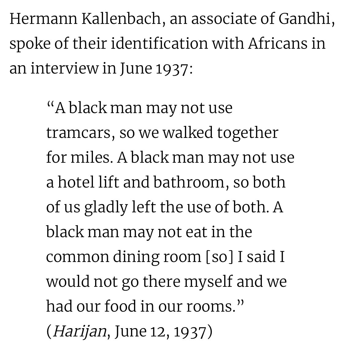 He had plenty on his own plate working to bring freedom to India, no one man should be held accountable for all the injustices in the world tho. Tru that he couldve done more for black people while he was in south africa, but he showed support multiple times later on. Just a few: pic.twitter.com/xFysODaFTc