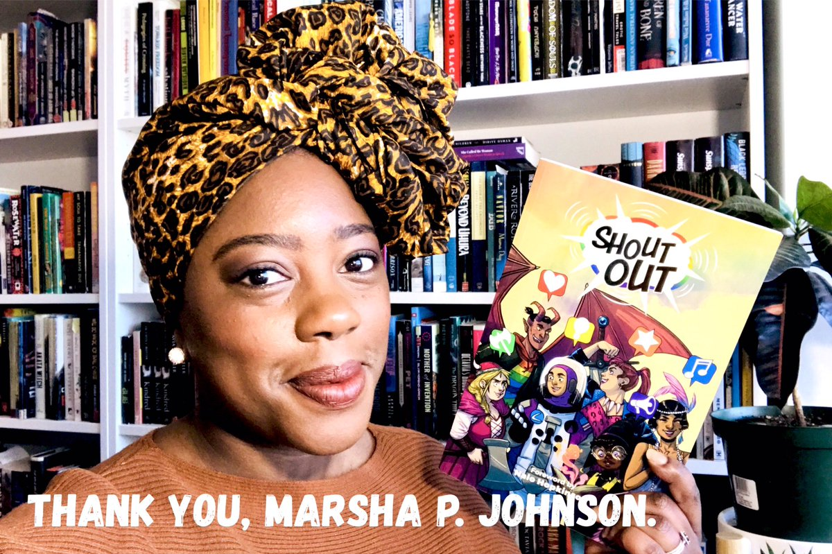 New video about my read for the @queer_lit Readathon. youtu.be/DLCD_bG6hQs