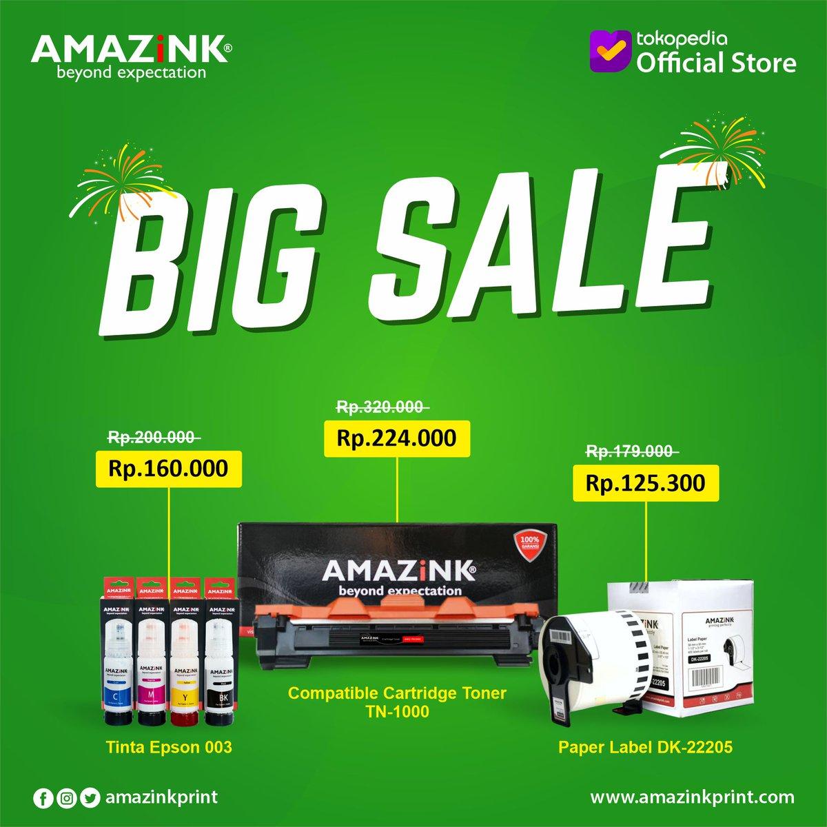 Hi Amazink People... Dapatkan potongan harga sebesar 30% untuk setiap pembelian produk AMAZiNK di Official Store AMAZiNK di Tokopedia. Promo berlaku hingga 28 Juni 2020.    #amazink #beyondexpectation #promo #tintaprinter #sale #diskon #tintaok #tintahp