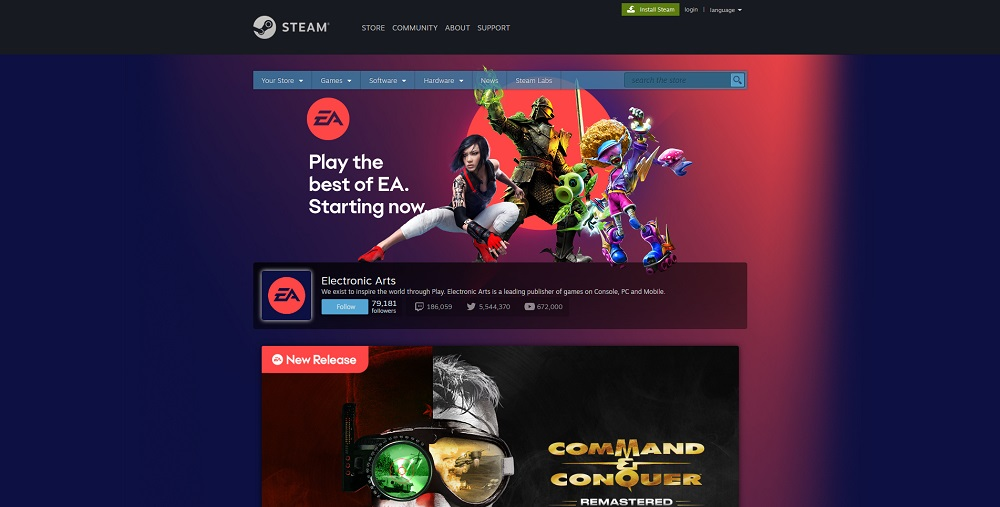 .@EA Access Coming Soon To @Steam ; More EA Titles Added   #EAAccess #Steam   https://t.co/sM1JjJHZod https://t.co/Cz6rTZPMTI