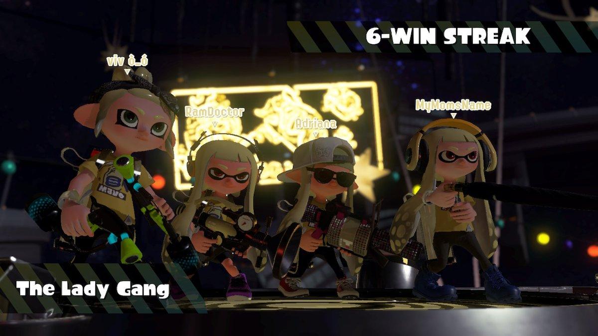 me and the squad :p #splatfest #teammayo #Splatoon2 #NintendoSwitch https://t.co/A07bxlEEFG