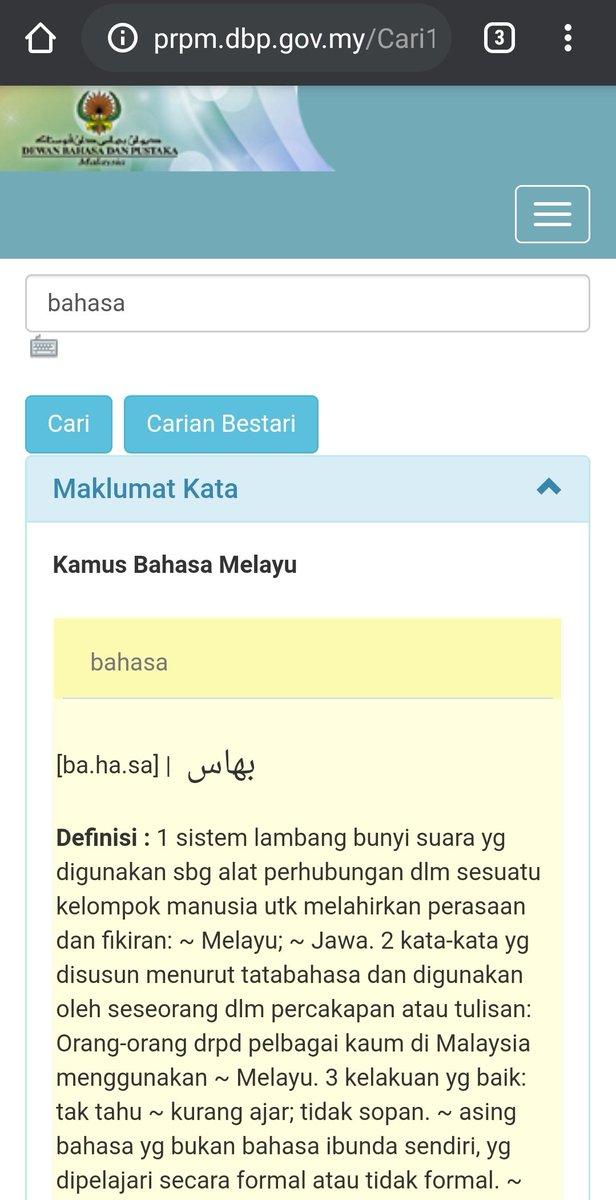 Dewan Bahasa Dan Pustaka On Twitter Peka Bahasa Kawalan Kendiri Sumber Pusat Rujukan Persuratan Melayu Prpm Pekabahasa Pintarbahasa Istilahsemasa Gerakandekadbahasakebangsaan Dekadmembacakebangsaan Bahasajiwabangsa Malaysiamembaca