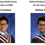 Image for the Tweet beginning: Congratulations to this year's Valedictorian