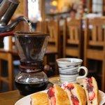 Image for the Tweet beginning: Cafe sebastian「カフェセバスチャン」  まったりしたい時、是非♪    #カフェセバスチャン #サンドウィッチ #旭川 #マップス #情報誌 #飯テロ