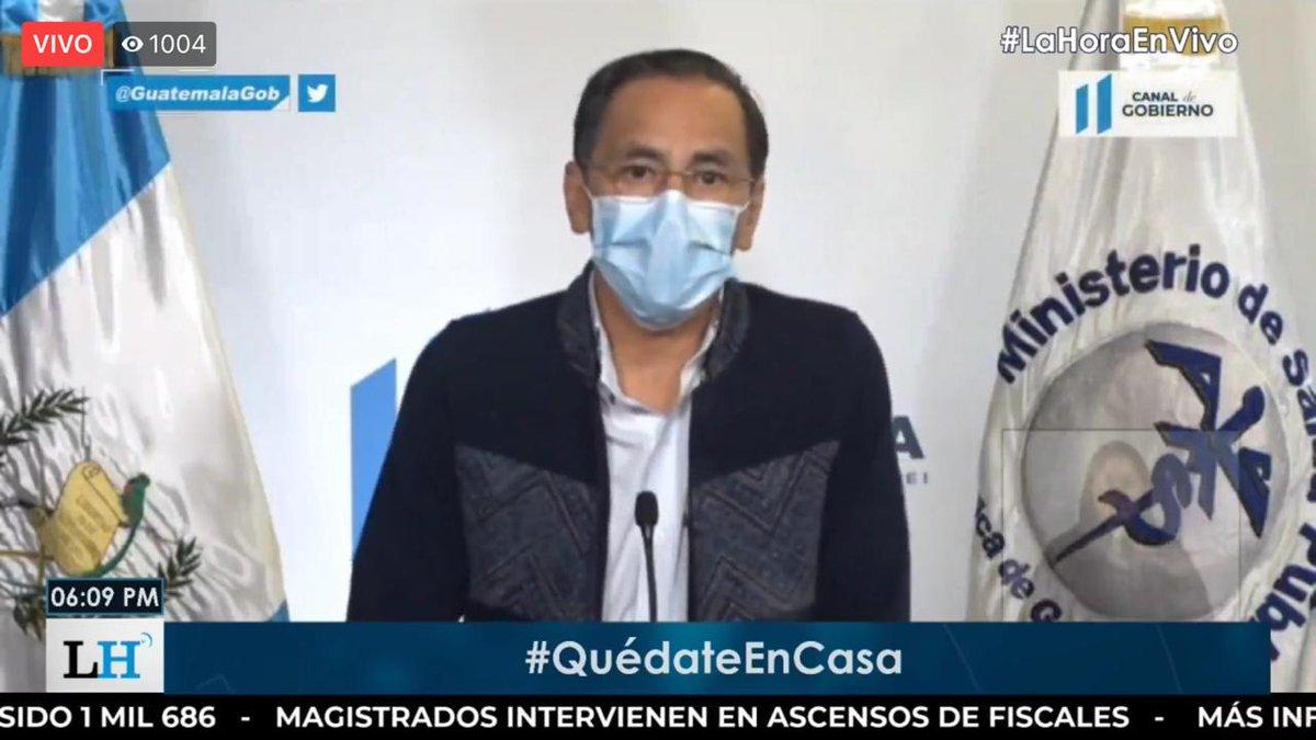 test Twitter Media - #AHORA Inicia mensaje del ministro de Salud, Hugo Monroy, anuncia que se identificaron 394 casos nuevos de coronavirus. https://t.co/DP7YnJBPPz