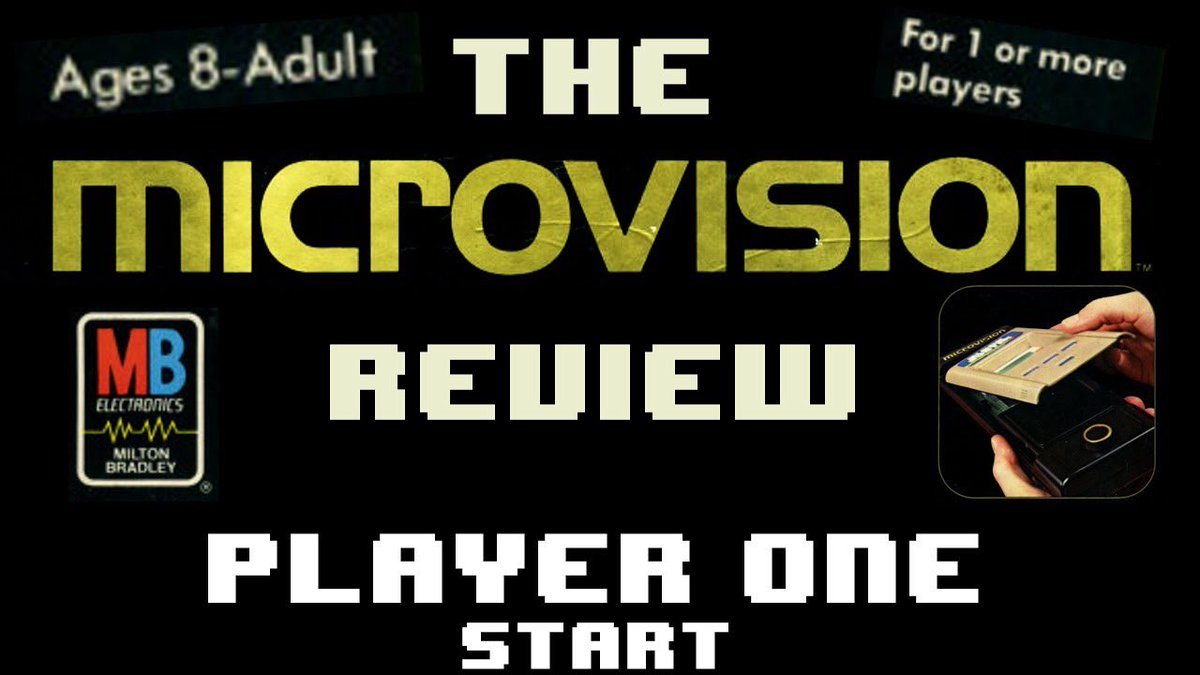 I'm taking a look at the Microvision. The 1st handheld console to use interchangeable cartridges.   https://youtu.be/JY_8Exth0X4 #gaming #gamer #games #gamers #gamerguy #vintage #videogames #retro #retrogaming #retrogames #instagamer #retrocollector #gamecollection #playeronestartpic.twitter.com/4ETyu36KXg