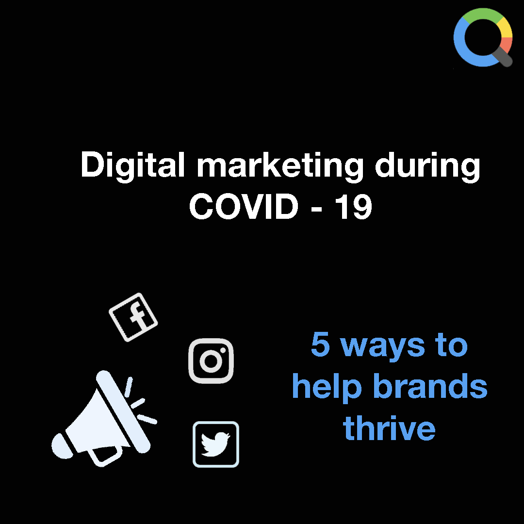 Google Marketing has shared 5 tips that guided their digital marketing campaign during the COVID - 19 outbreak at: https://t.co/yDS5I4tNSc  Get started on your digital marketing skills at: https://t.co/YnROob4PMb  #digitalmarketing #elearning #quze #lockdownlearning https://t.co/eJvrgAMCR8