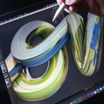 Image for the Tweet beginning: New video on 3D lettering