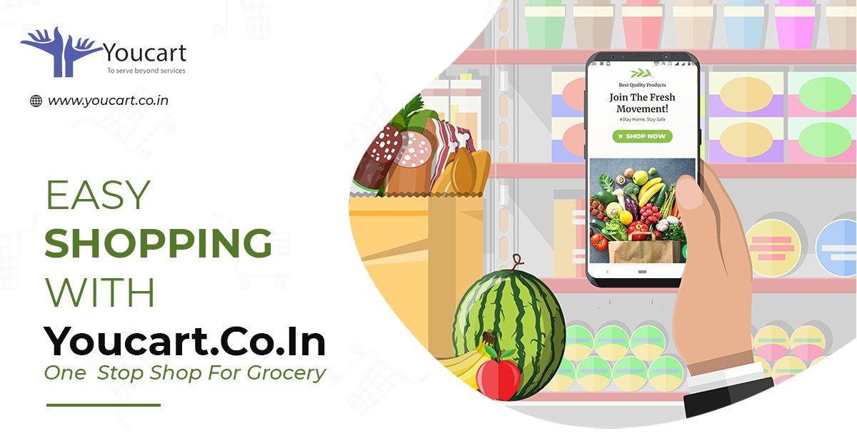 Easy shopping with Youcart #onlineshopping #ecommerce #digitalmarketing #freshvegitable #Bangalore #StayHomeStaySafe https://t.co/D49yddCIAv