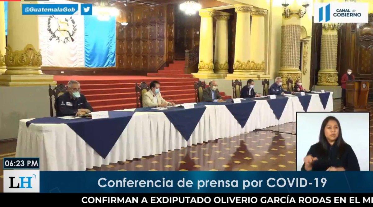test Twitter Media - Inicia la conferencia de prensa de las autoridades del Ministerio de Salud.En la mesa están el ministro Hugo Monroy, el director de Comisión Presidencial contra el Coronavirus, Edwin Asturias, y demás viceministros. https://t.co/UO894uNlYH